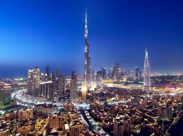 Downtown Dubai Night