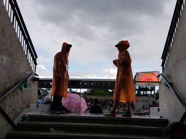 Rain Delay - Roland Garros