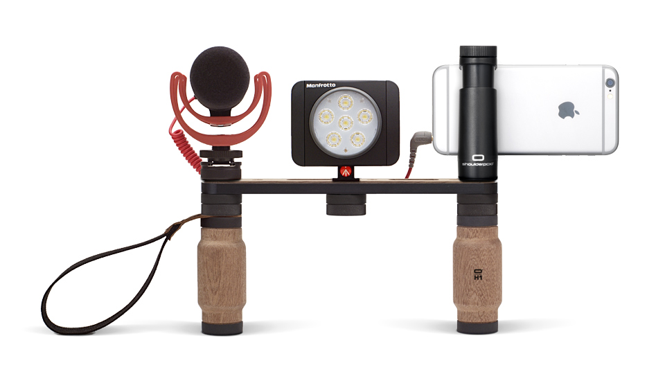 ShoulderPod for Mobile Journalism