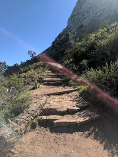Path to the top at Lion's head