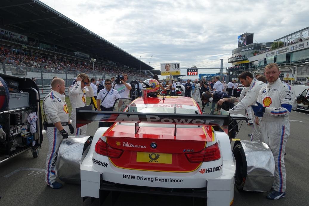 Pre-race check