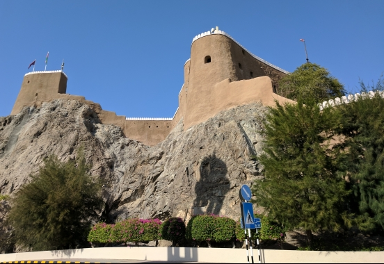 Fort in Muscat.