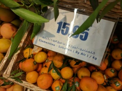 Clementines from Lebanon...by air!