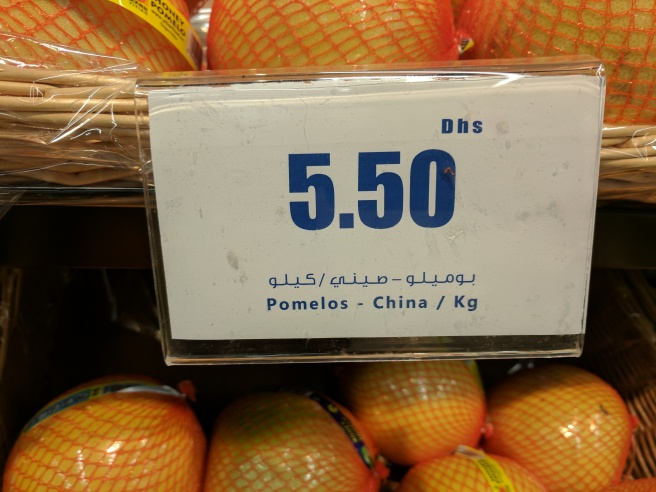 I have never tried a Pomelo but I heard it was good.