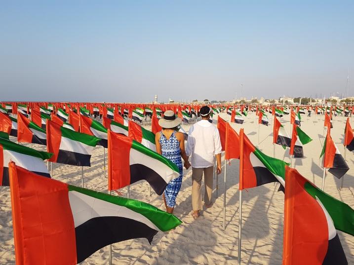 Flags on Kite Beach