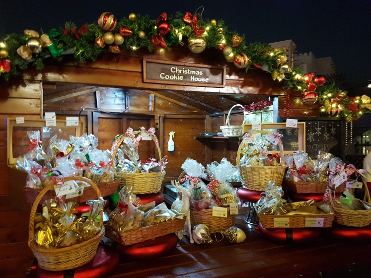Madinat Jumeirah hosted a German themed Christmas market. I can't wait for Rocket and I to visit the markets in Germany!