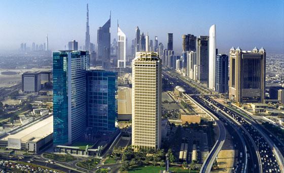 The Changing Dubai Skyline