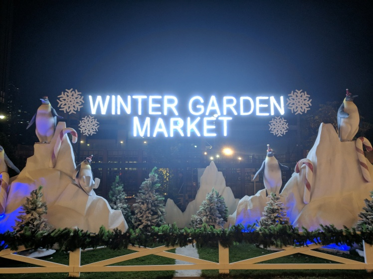 In Dubai we have combined winter and garden markets.